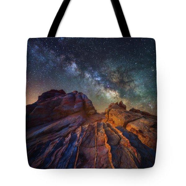 Martian Landscape Tote Bag