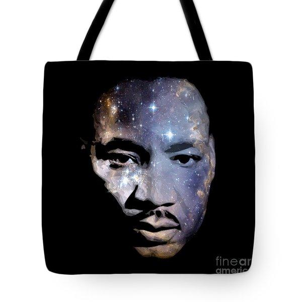 Martin Among The Stars Tote Bag