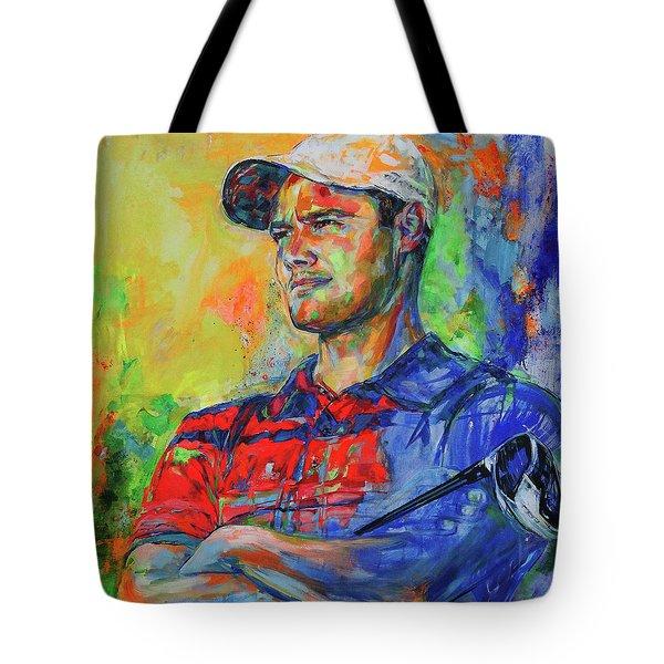 Martin Kaymer Tote Bag by Koro Arandia