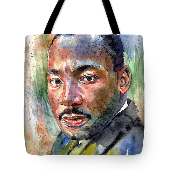Martin Luther King Jr. Painting Tote Bag
