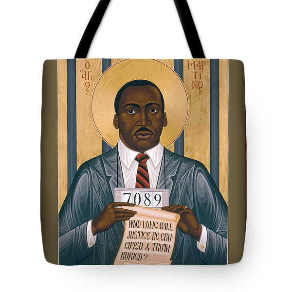 Martin Luther King Of Georgia  - Rlmlk Tote Bag