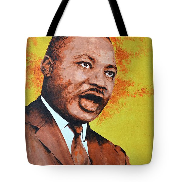 Martin Luther King Tote Bag by Victor Minca