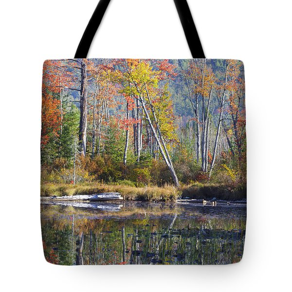 Martin Meadow Pond - Lancaster New Hampshire Tote Bag