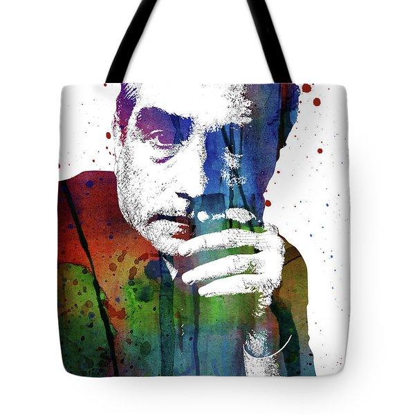 Martin Scorsese Tote Bag by Mihaela Pater