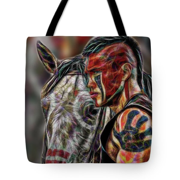 Martin Sensmeier - Digital Art Tote Bag