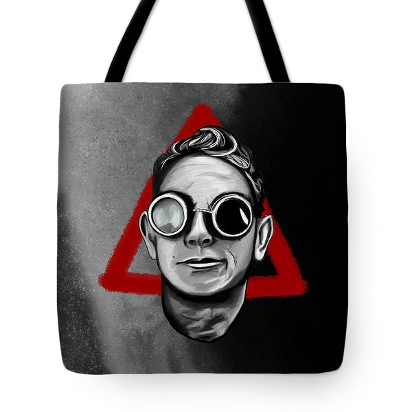 Martin With Welder Goggles Tote Bag