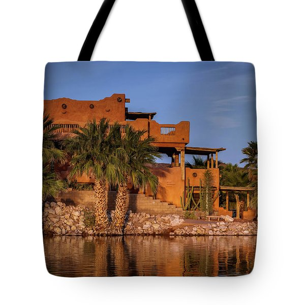 Martinez Lake Tote Bag