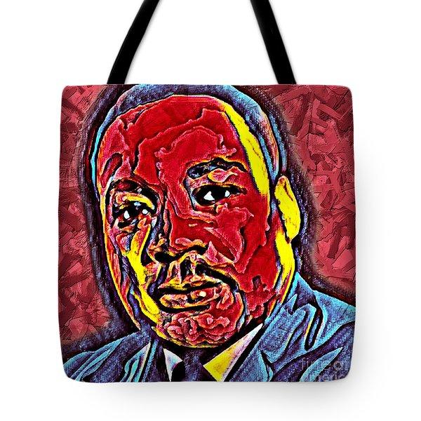 Martin Luther King Jr. Portrait Tote Bag