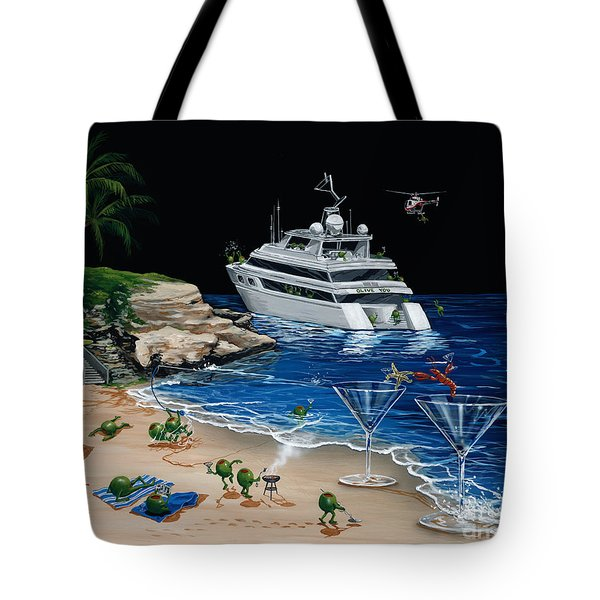 Martini Cove La Jolla Tote Bag