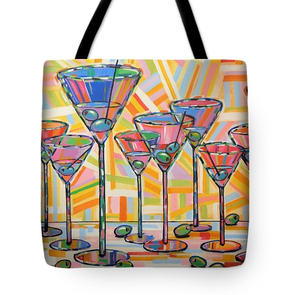 Martini Hour Tote Bag