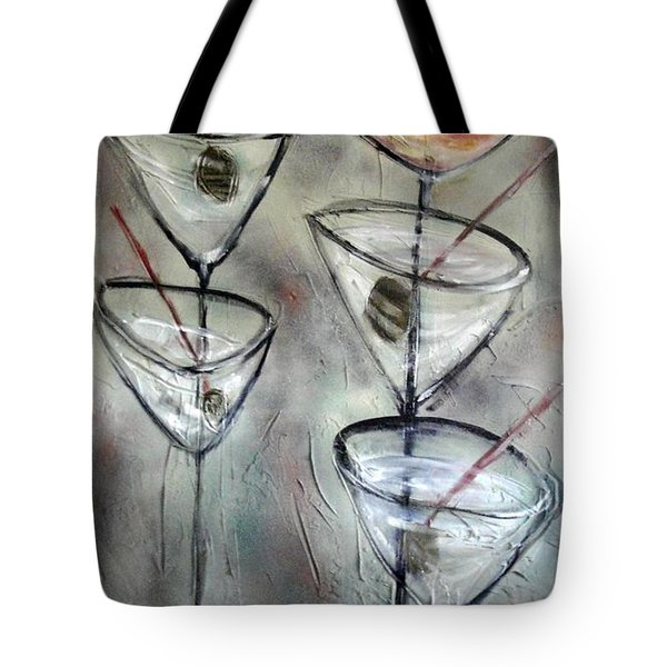 Martini Time Tote Bag