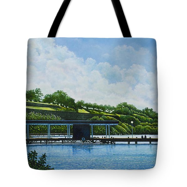 Martinique Tote Bag by Michael Frank