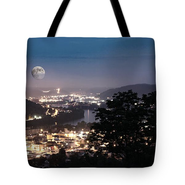 Martins Ferry Night Tote Bag