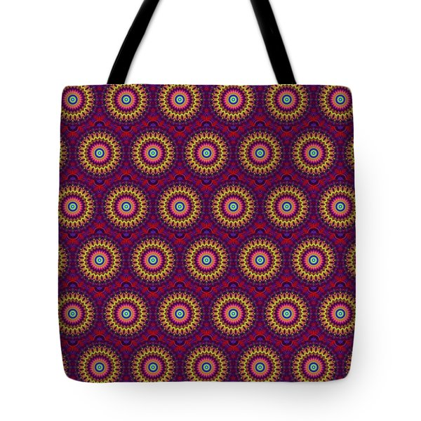Martix Design 002 A Tote Bag by Larry Capra