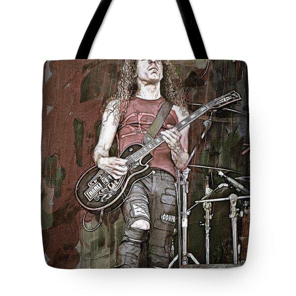 Marty Friedman, Guitarist Tote Bag