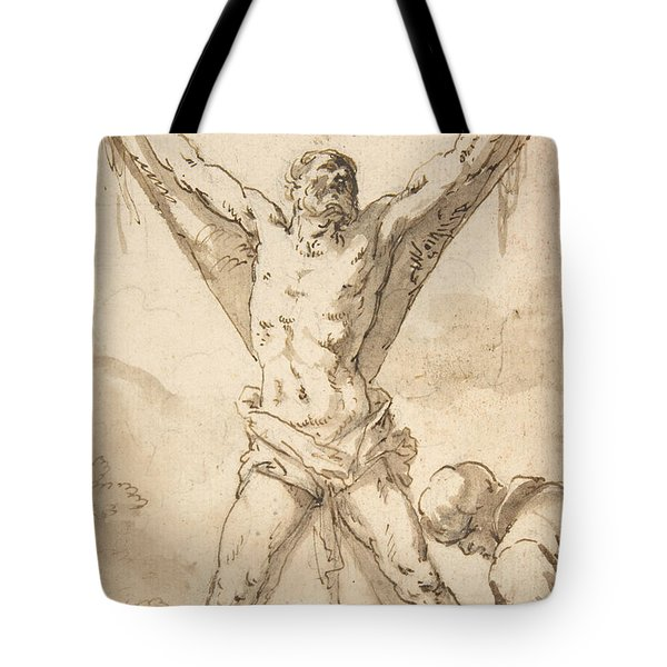 Martyrdom Of St. Andrew Tote Bag