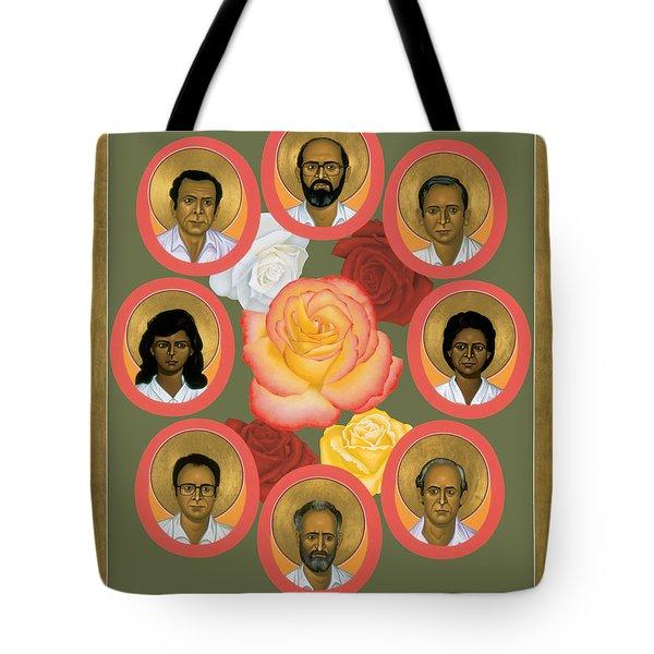 Martyrs Of The Jesuit University - Rlmju Tote Bag