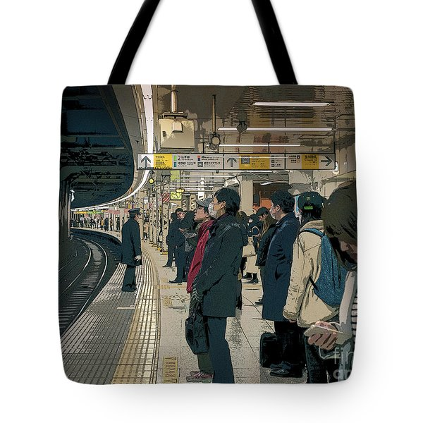 Marunouchi Line, Tokyo Metro Japan Poster 2 Tote Bag