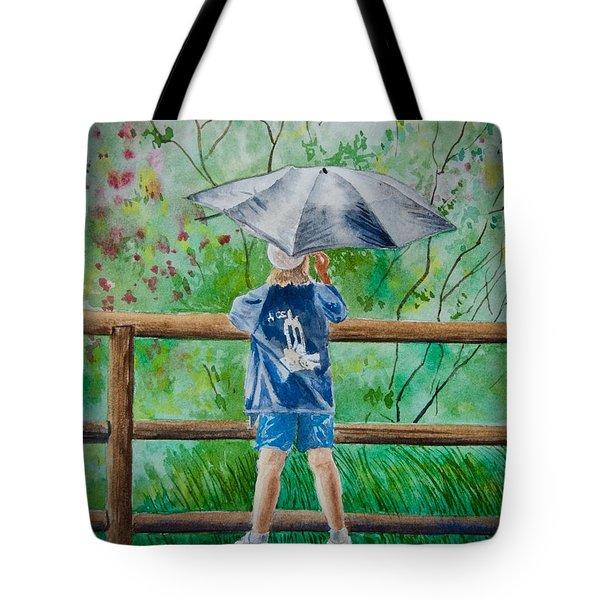 Marcus' Umbrella Tote Bag