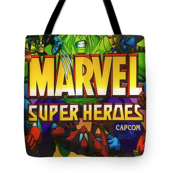 Marvel Super Heroes Tote Bag