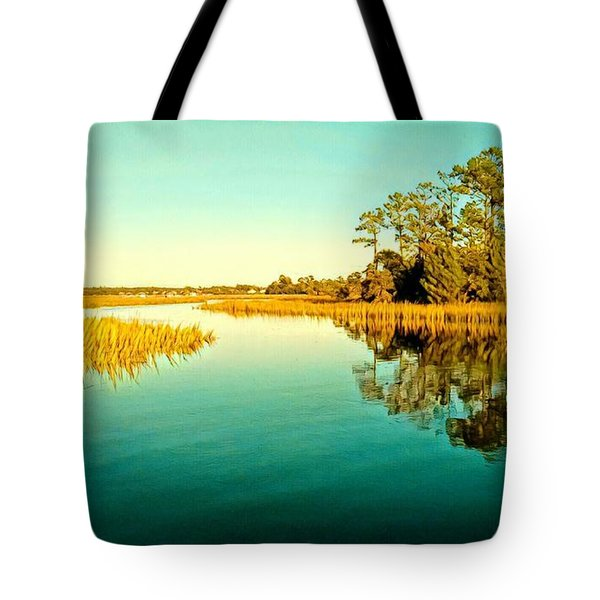 Marvelous Marsh Tote Bag