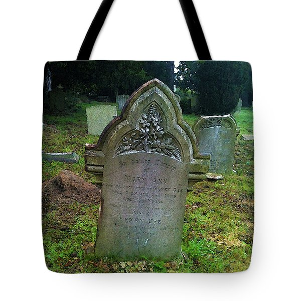 Mary Ann Tote Bag by Anne Kotan