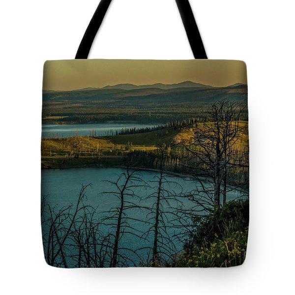 Mary Bay At Dawn Tote Bag by Yeates Photography