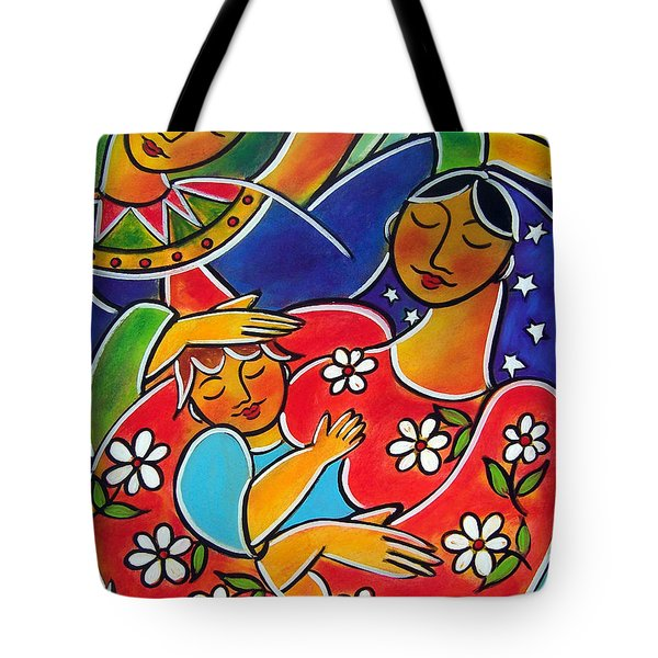 Mary Blessed Mother Tote Bag