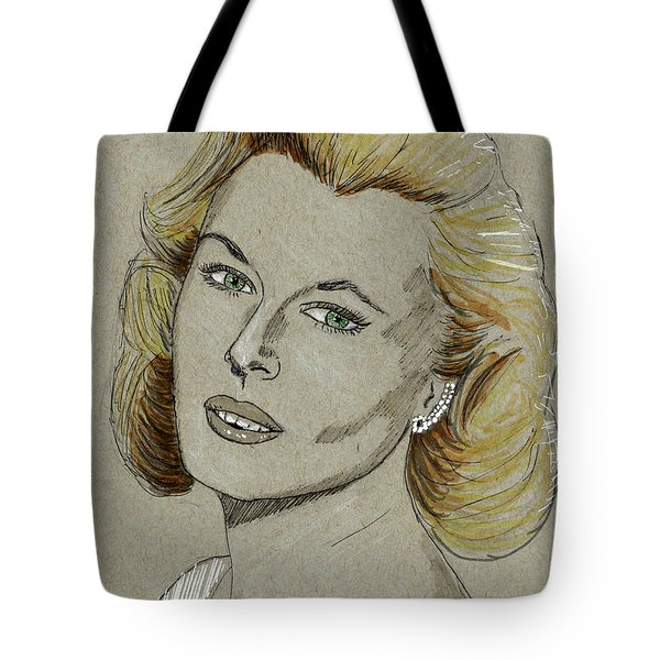 Mary Costa Tote Bag