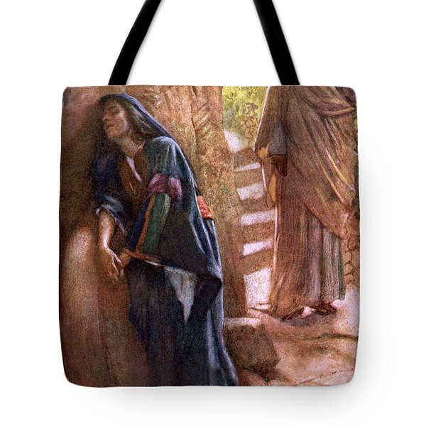 Mary Magdalene At The Sepulchre Tote Bag