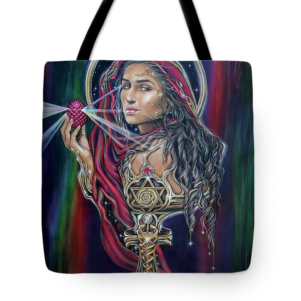 Mary Magdalen - The Holy Grail Tote Bag
