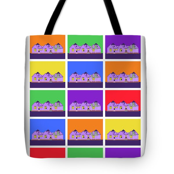 Mary Montage Tote Bag