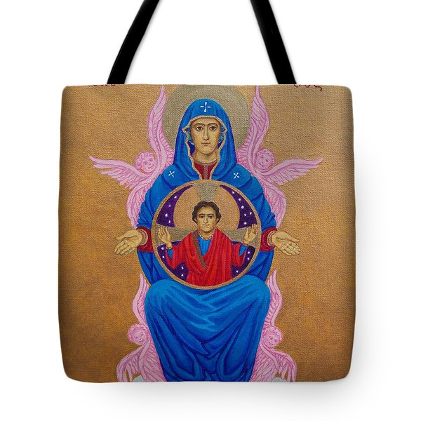 Mary Mother Of Mercy Icon - Jubilee Year Of Mercy Tote Bag