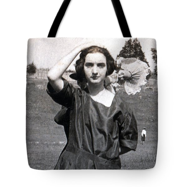 Tote Bag featuring the painting Mary Neal 02 by Rick Baldwin