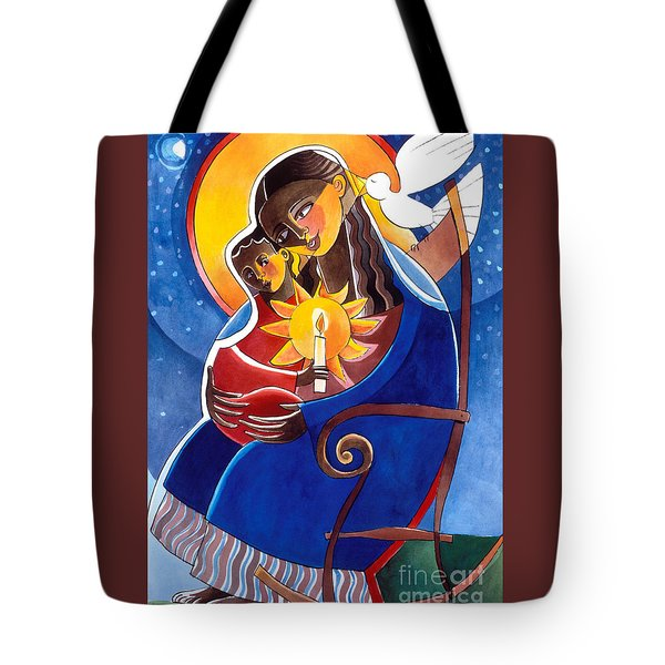 Mary, Seat Of Wisdom - Mmwis Tote Bag