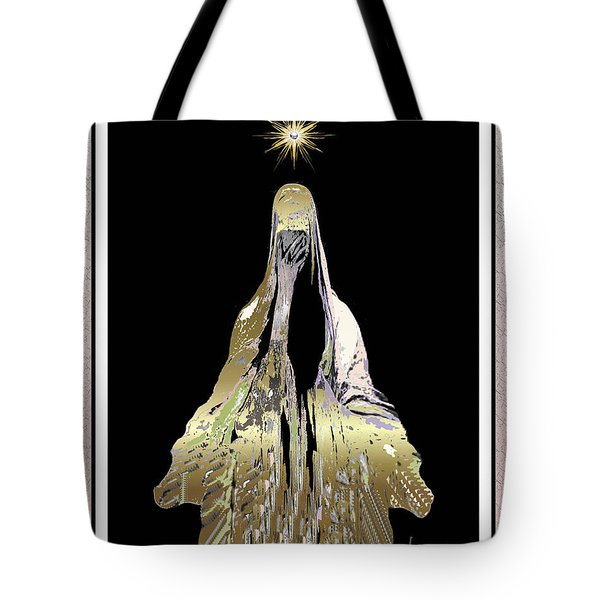 Mary Wept Tote Bag