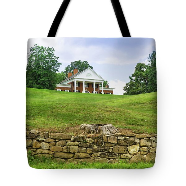 Tote Bag featuring the photograph Marye's House by John M Bailey