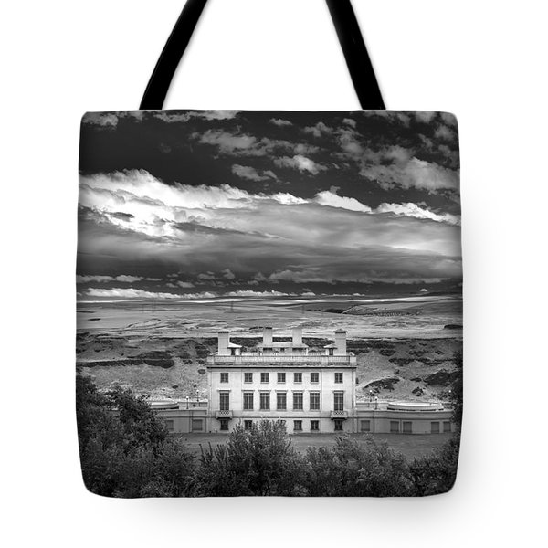 Maryhill In Monochrome Tote Bag