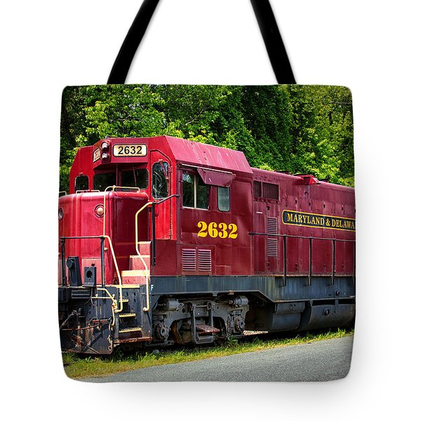 Maryland And Delaware Engine 2632 Tote Bag