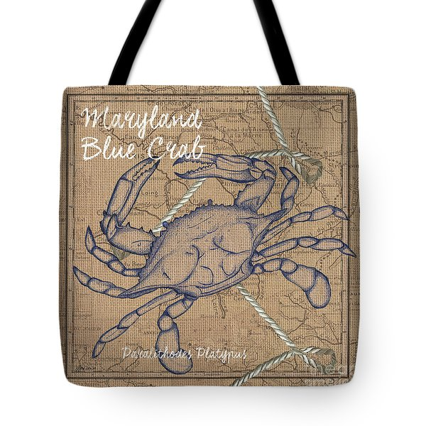 Maryland Blue Crab Tote Bag