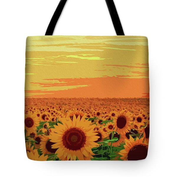 Maryland Sunflowers Tote Bag