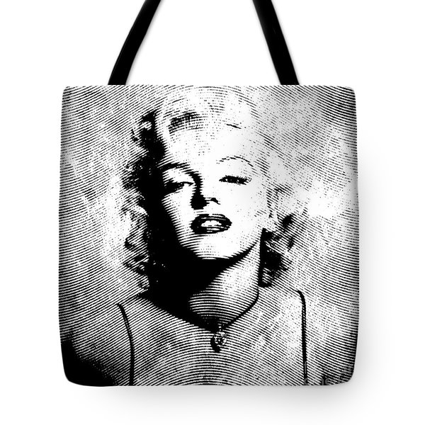 Marilyn Monroe - 04a Tote Bag by Variance Collections