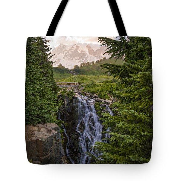 Myrtle Falls Tote Bag
