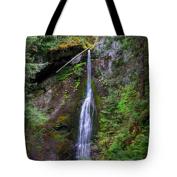 Marymere Falls Tote Bag