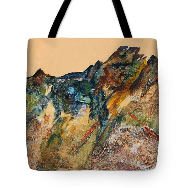 Mary's Mountain Tote Bag