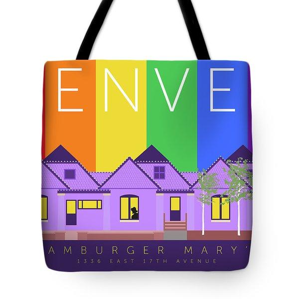Mary's Rainbow Tote Bag