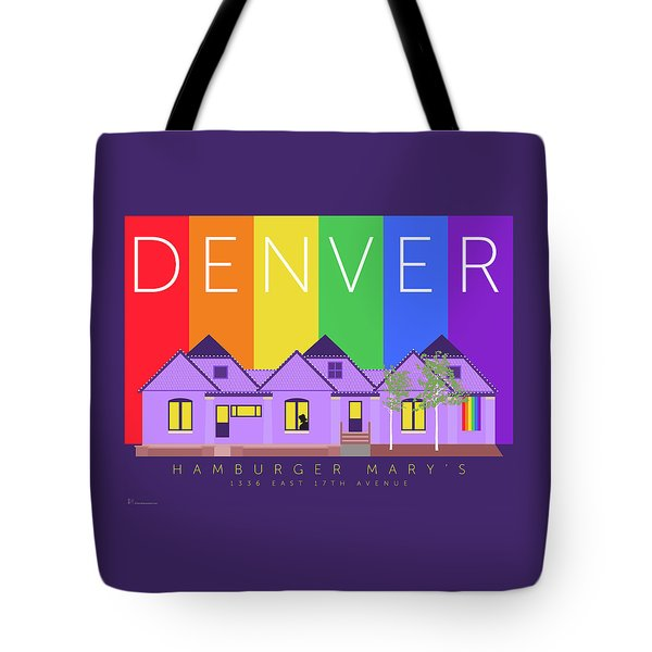 Mary's Rainbow Tote Bag