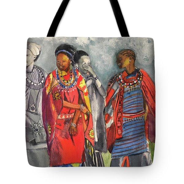 Masai Women Tote Bag