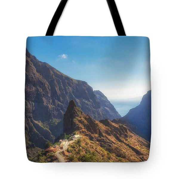 Tote Bag featuring the photograph Masca by James Billings