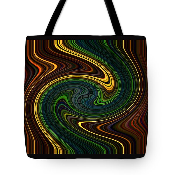 Masculine Waves Tote Bag